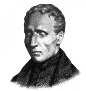 Image of Louis Braille.